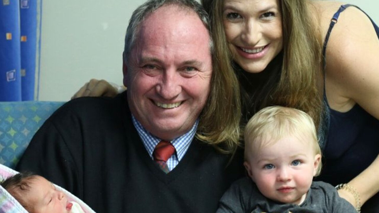 Barnaby Joyce, Vikki Campion and sons, Tom and Sebastian visited the Far North.