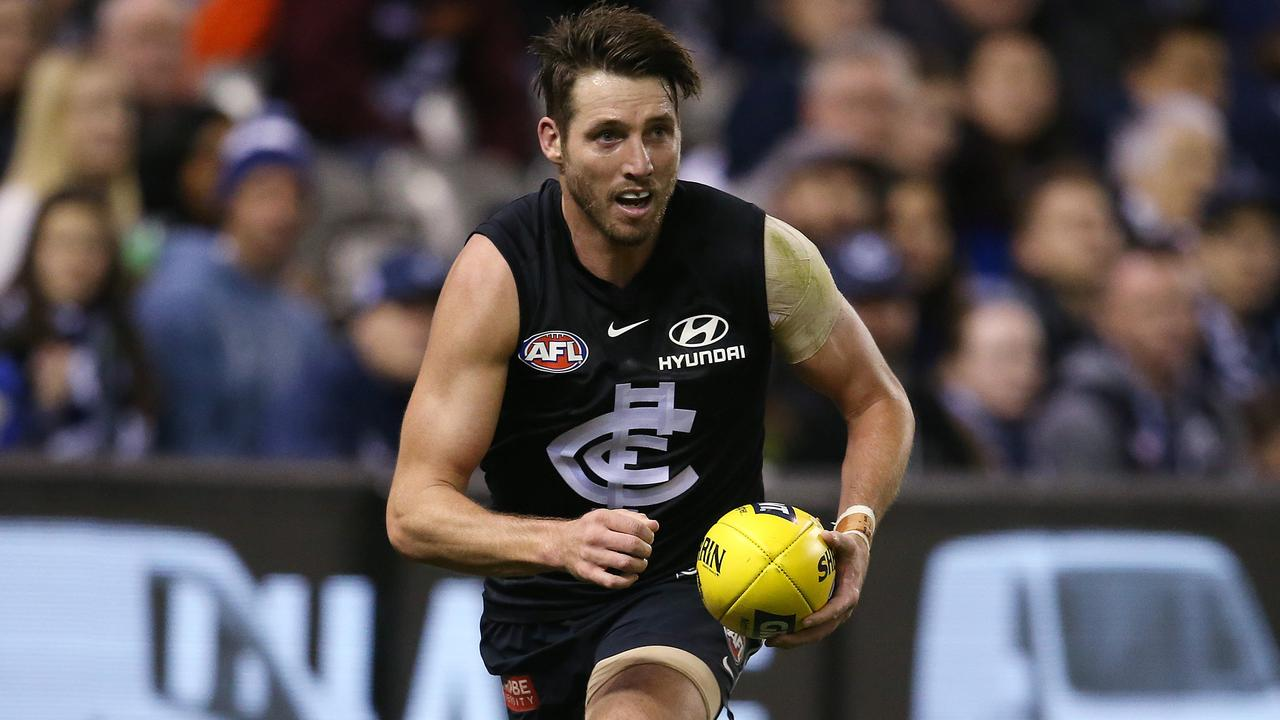 Carlton's Dale Thomas is one of a number of AFL players whose future is up in the air.