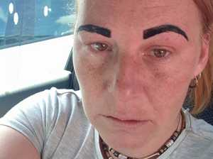 'Mortified': Mum's brow wax shocker