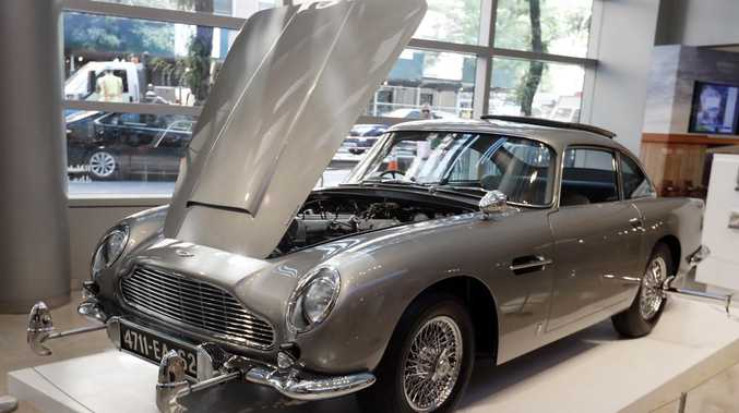 Classic James Bond car's massive price tag
