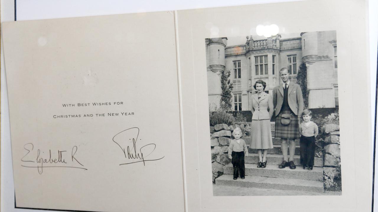 The Queen's signature. Picture: Tertius Pickard