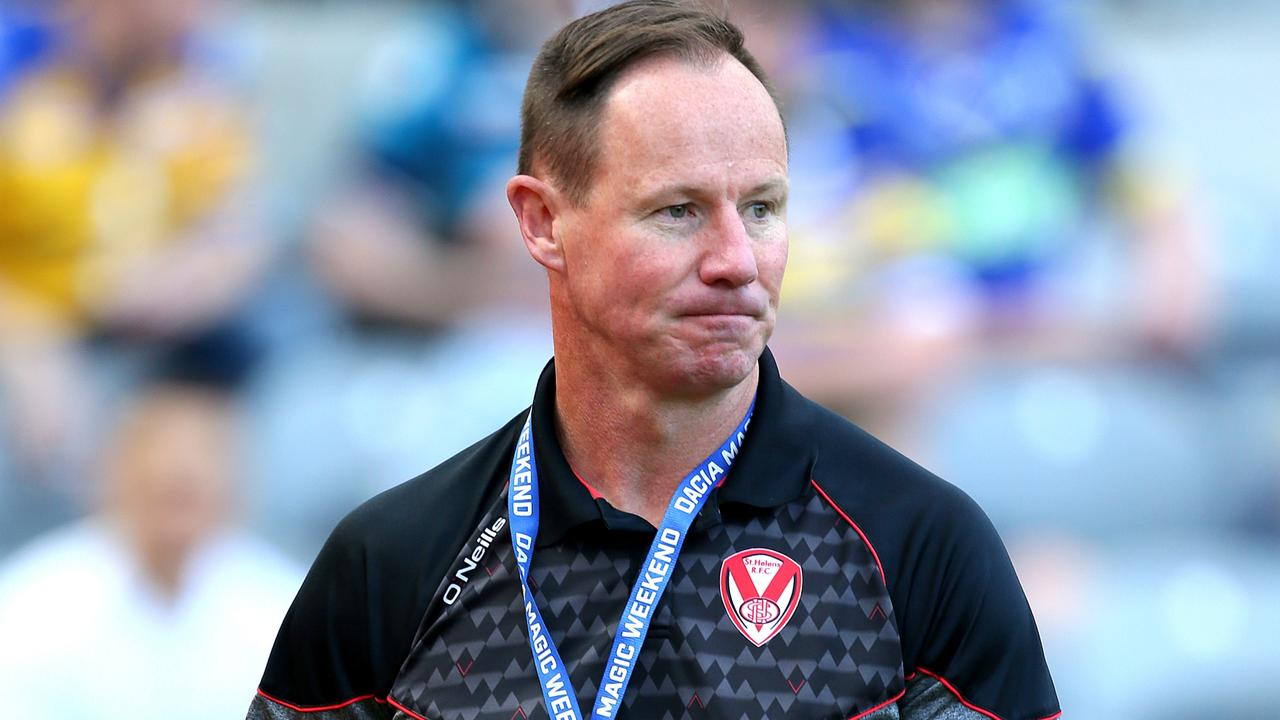 Saint Helens head Coach Justin Holbrook. Picture: PA Images via Getty Images.