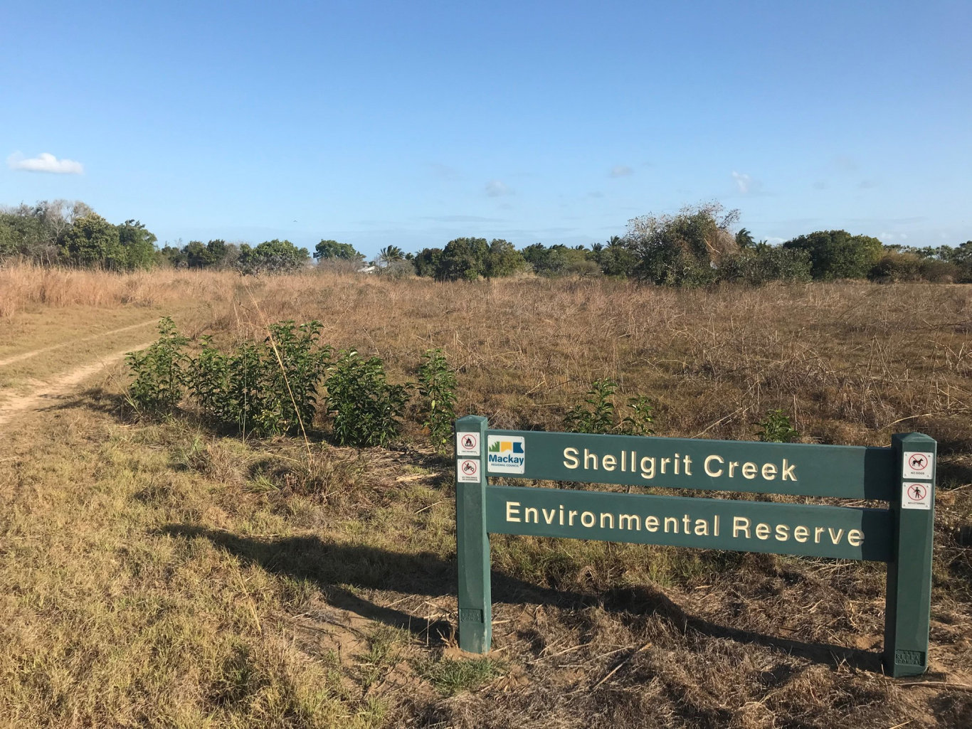 Shellgrit Creek, Mackay.