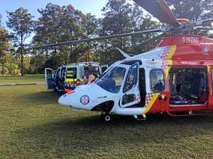 Boy, 11, taken to hospital after fall at Mt Warning