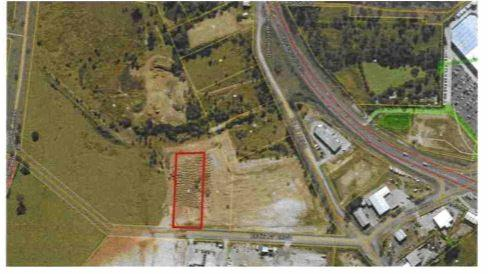 Proposed site for new development by operators of Nicks Ready Mix.
