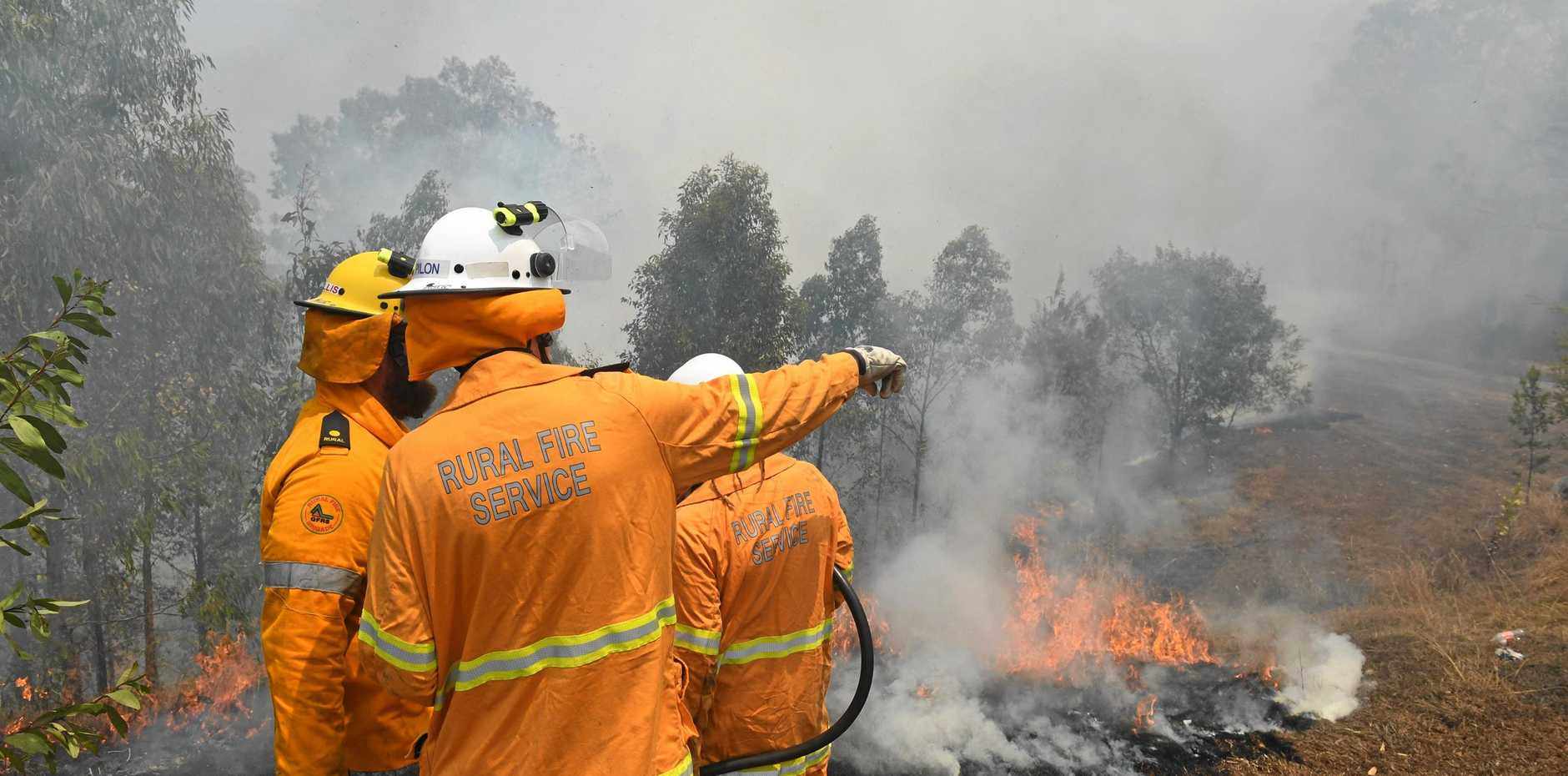 FIRE SEASON APPROACHES: The NSW Rural Fire Service is warning landholders to prepare for a