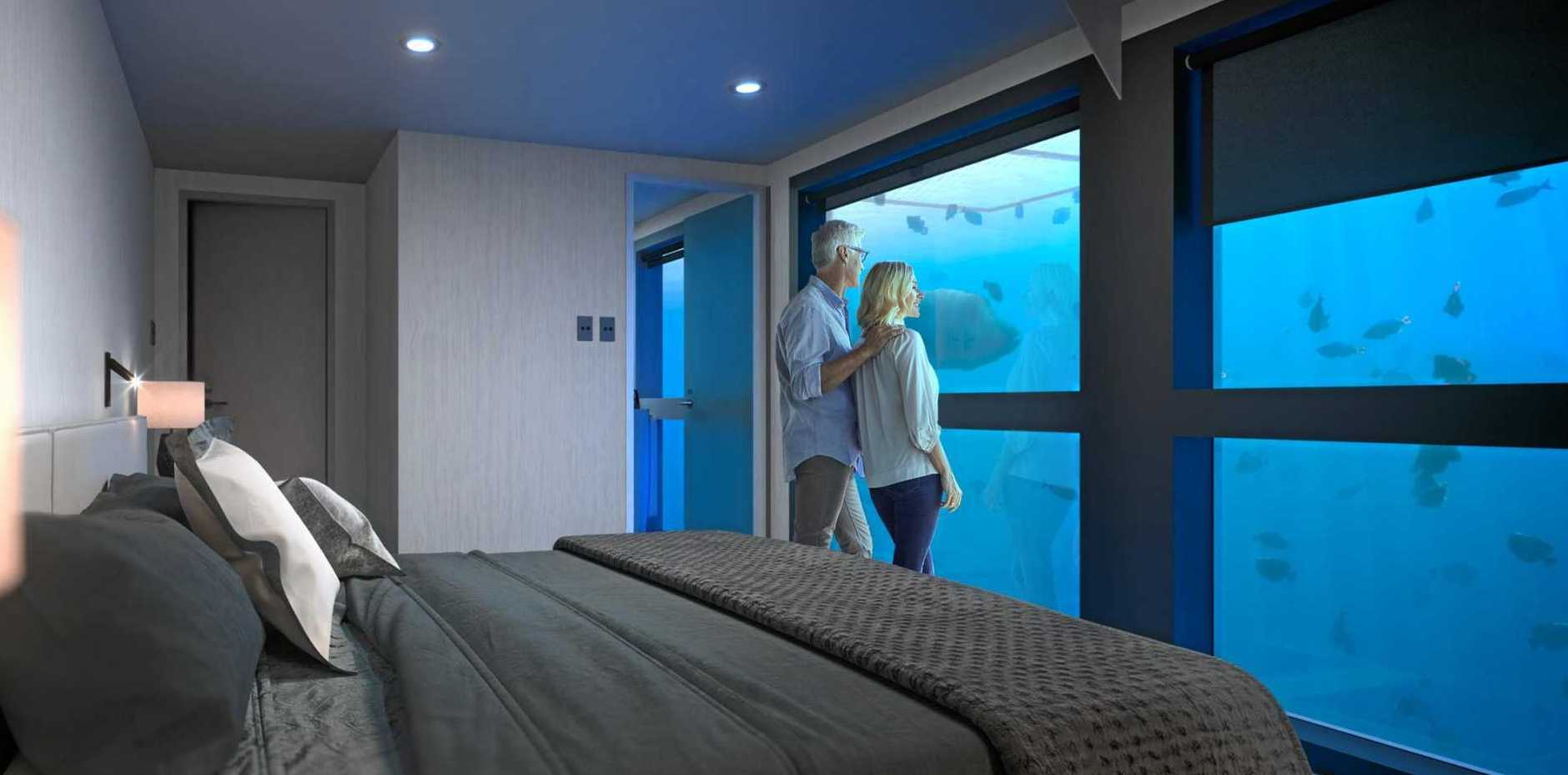 A digital impression of the Reef Suite.