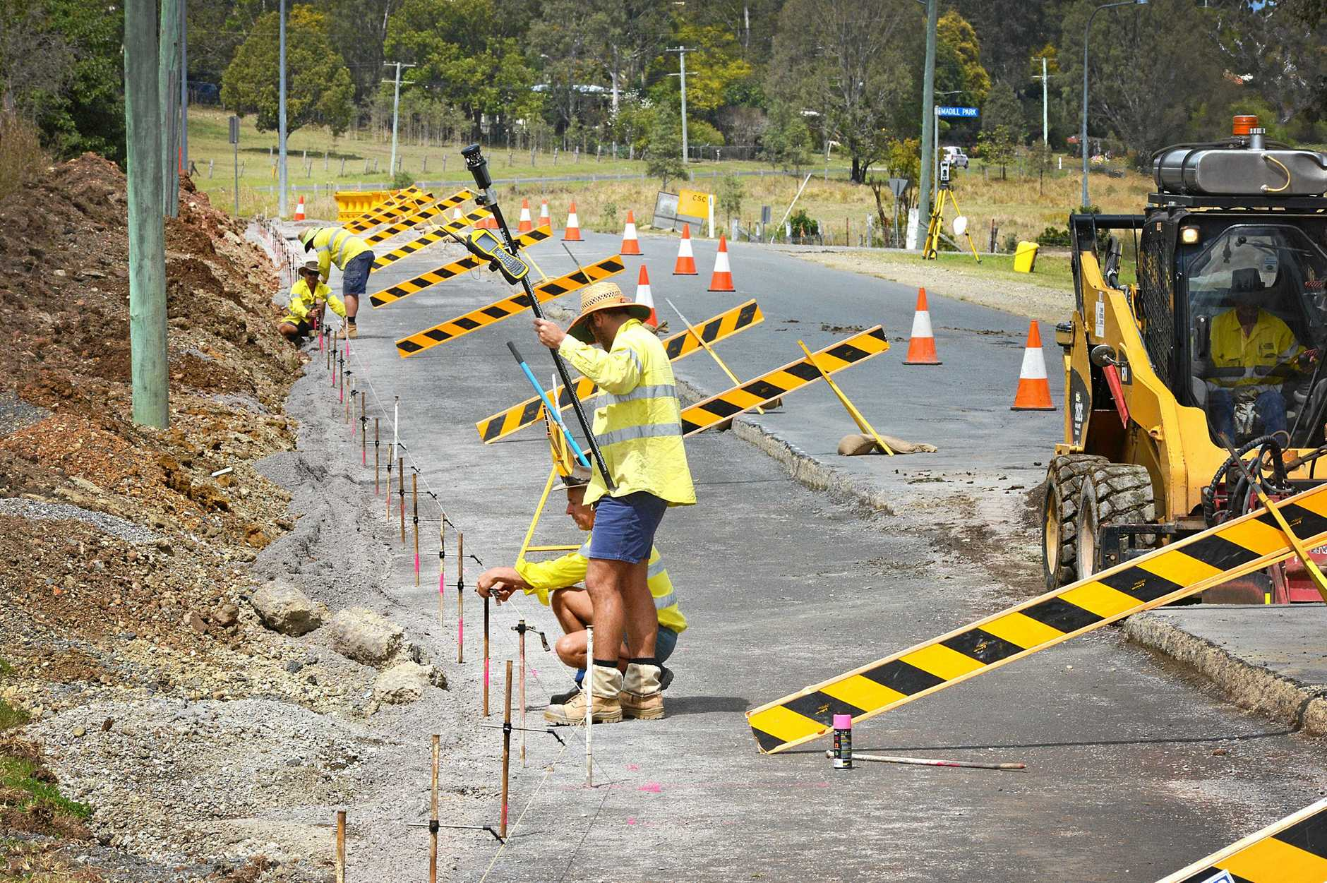 BIG FIX: Gympie council workers will have a busy fortnight of road upgrades and repairs.