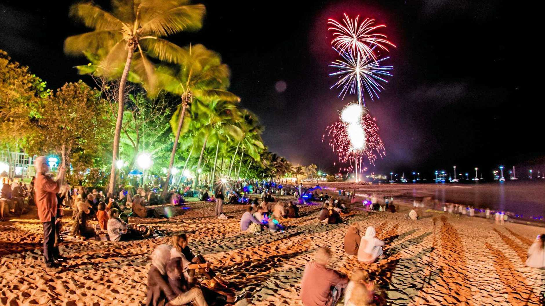 STARTING WITH A BANG: Don't miss the Whitsunday Coast Airport Fireworks by the Foreshore.