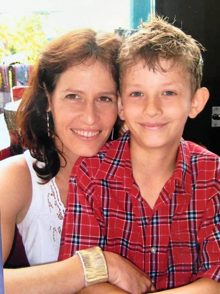 A treasured family photo of Natalea Summers and her son, Hamish Summers-Lawrie.