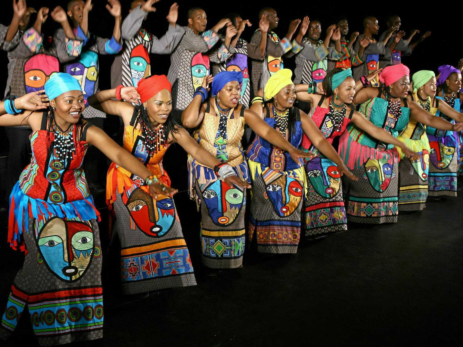 AFRICAN RHYTHMS: The Soweto Gospel Choir is coming to the Northern Rivers this week.