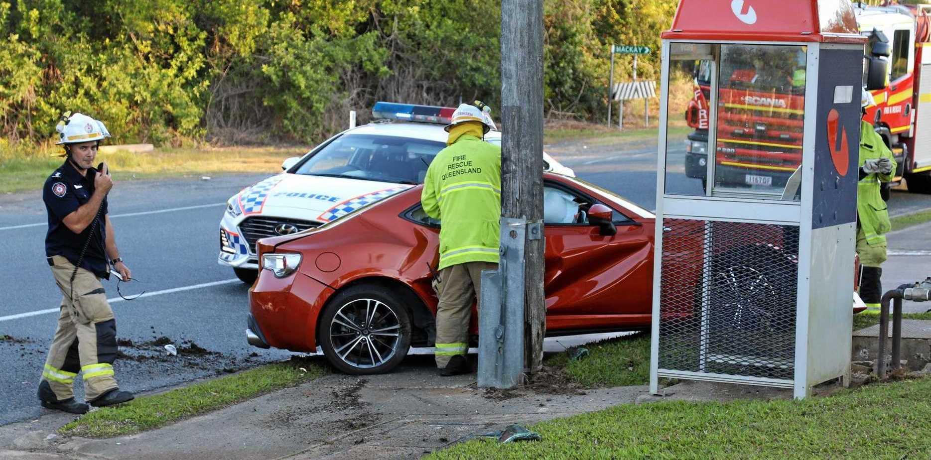 Scott Greenham is sick of cars speeding down Downie Ave in Bucasia.