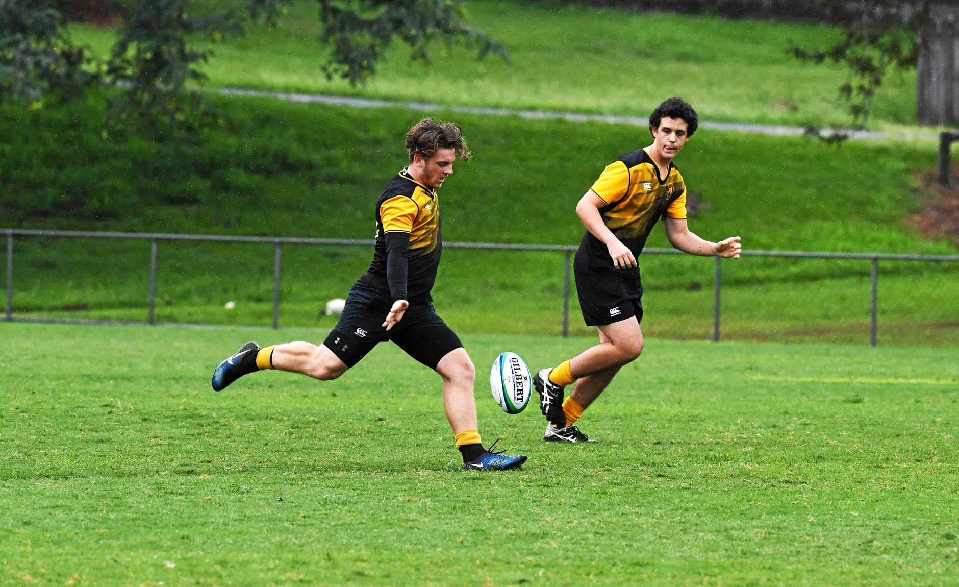 Gympie School Rugby Comp - James Nash player Brae McAllister.