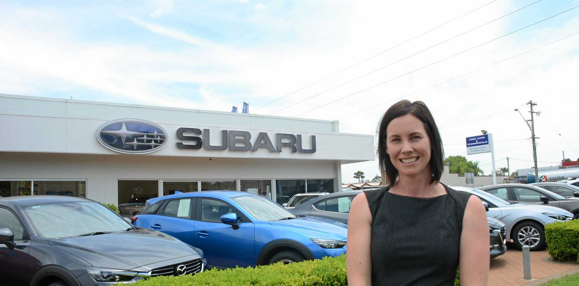 HEALTH: Owner Jacqui Trace has started a weight-loss challenge at Bill Hull Car Centre.