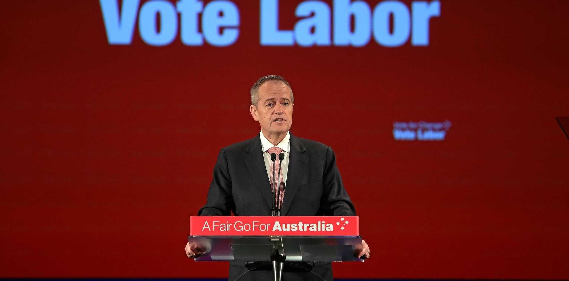 Former Opposition Leader Bill Shorten.