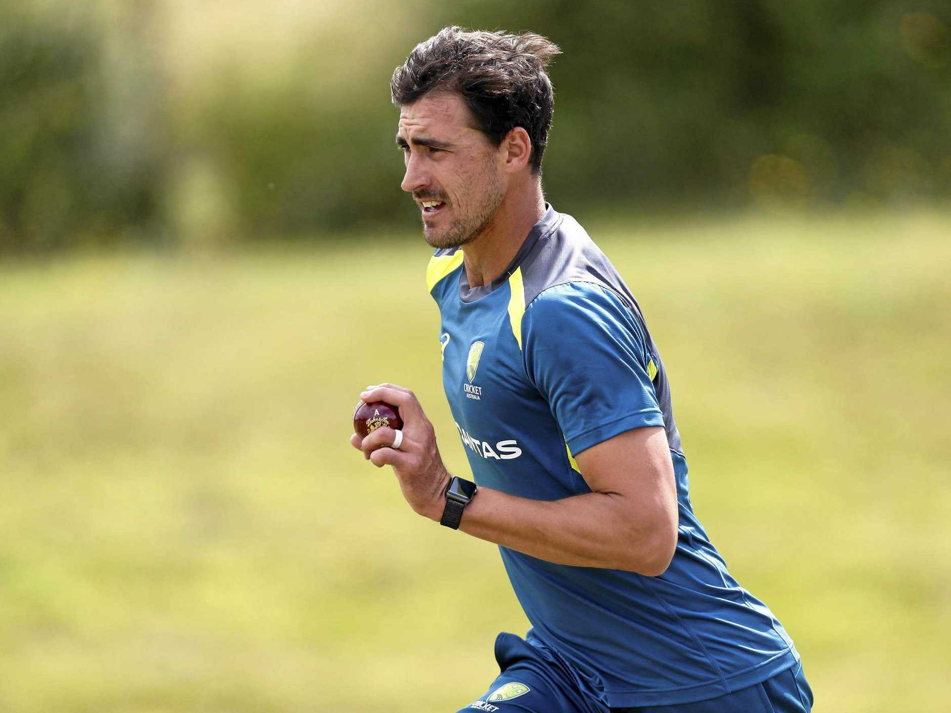 Mitchell Starc is expected to miss the first Test.