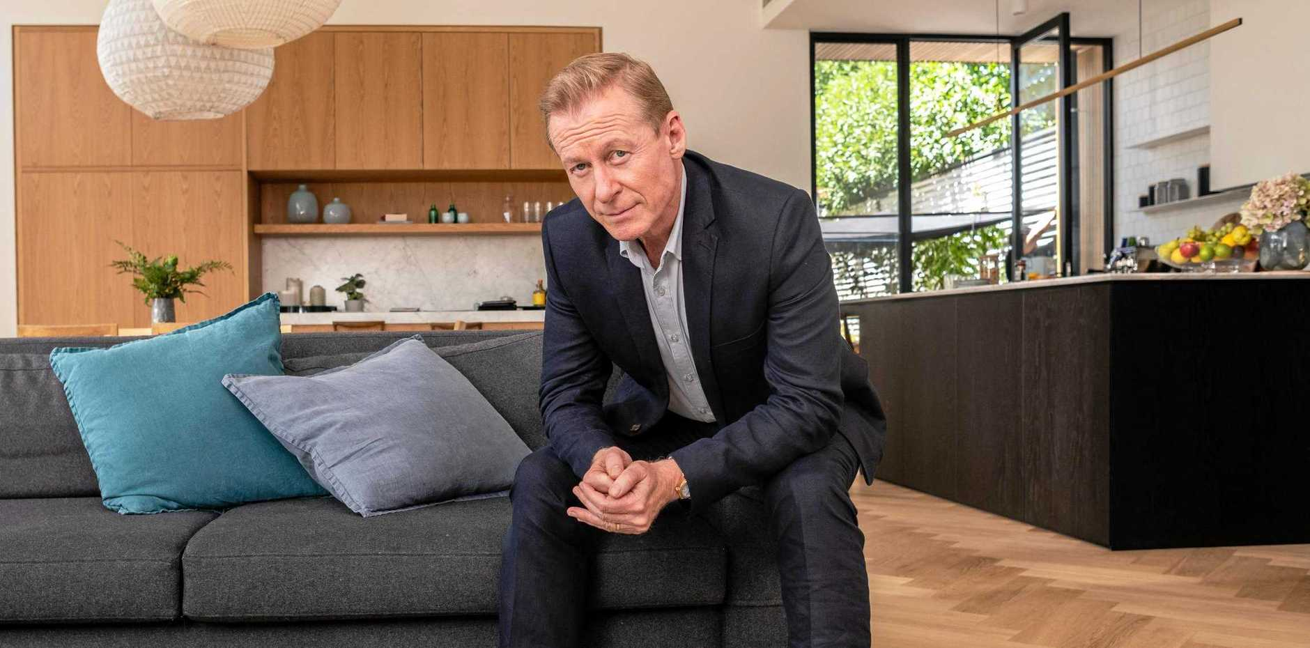 Richard Roxburgh stars in the TV series The Hunting.