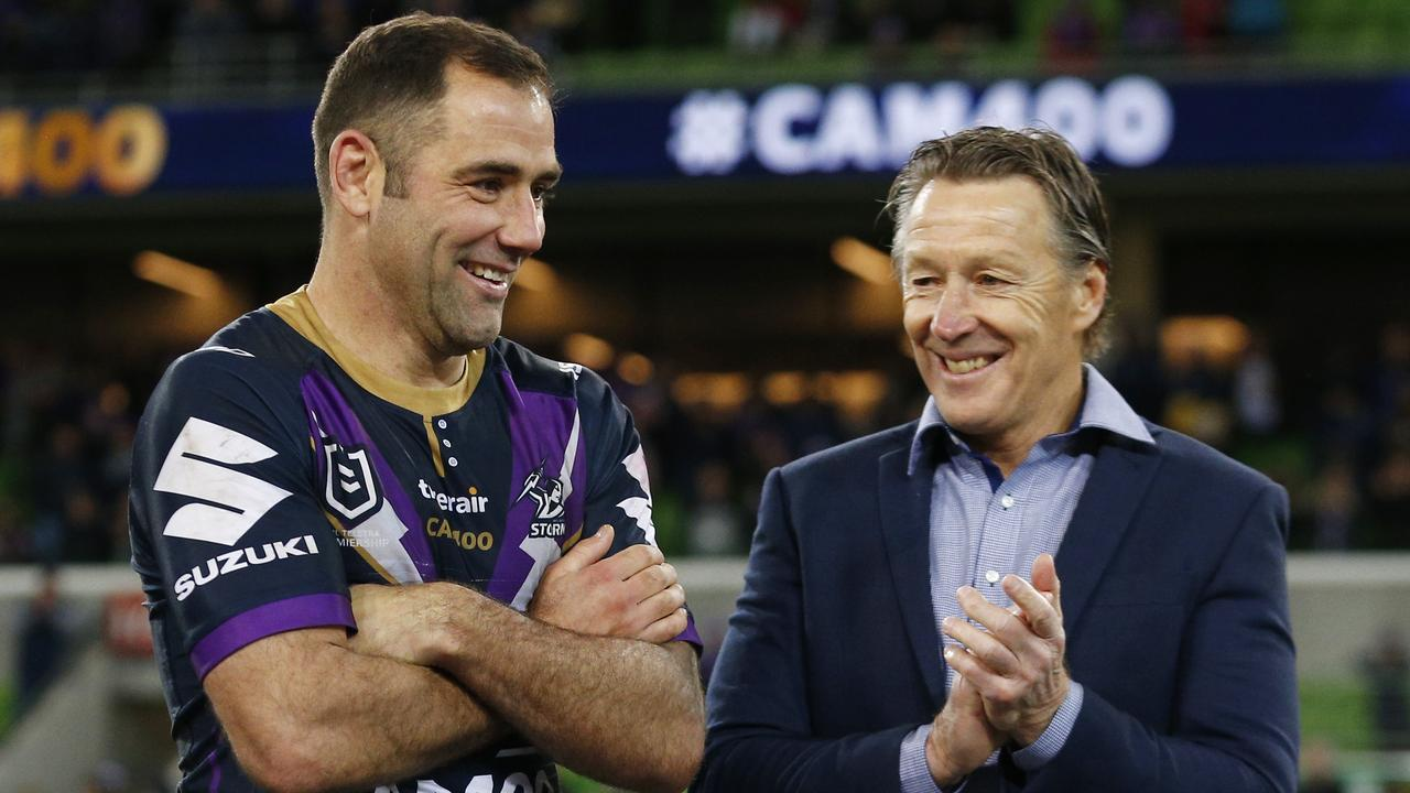 Canberra missed out on signing both Cameron Smith and Craig Bellamy in the early 2000s. (AAP Image/Daniel Pockett)
