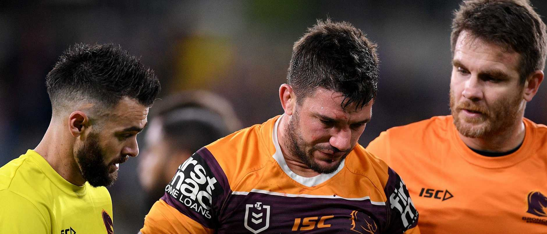 Matt Gillett is in doubt again. AAP Image/Dan Himbrechts.