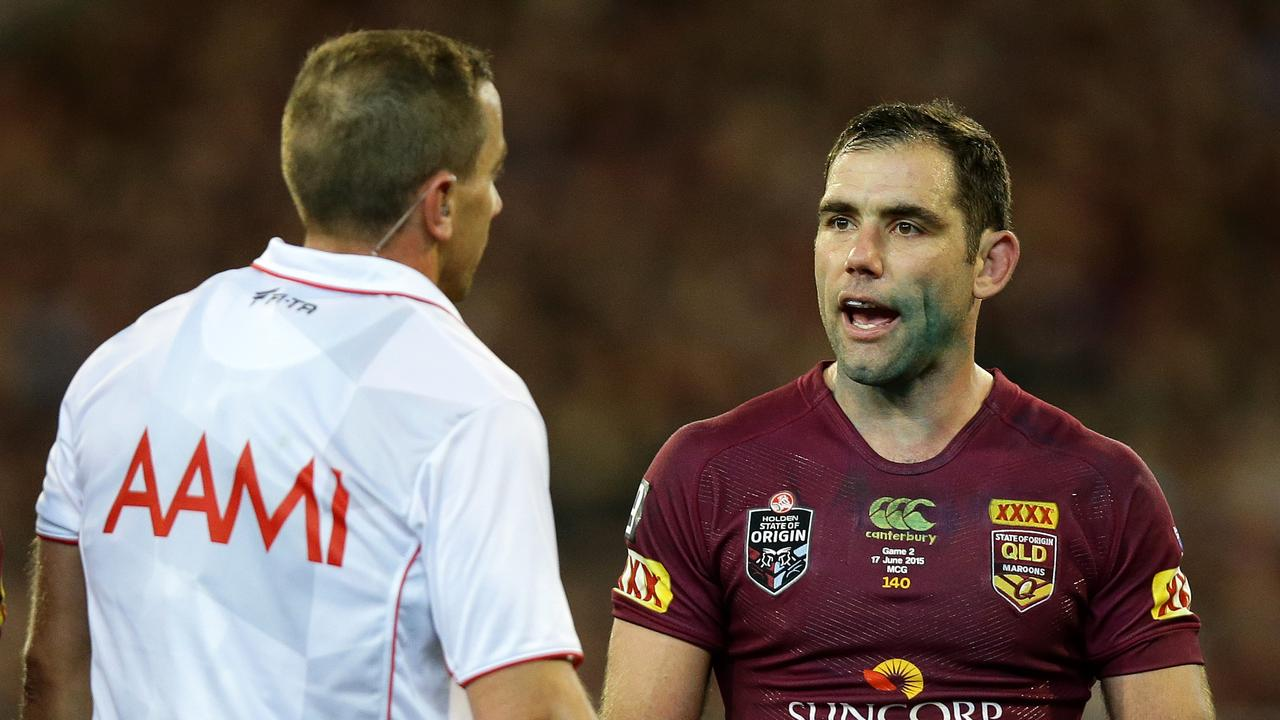 Cameron Smith has been widely criticised for his influence over referees. Picture: Gregg Porteous