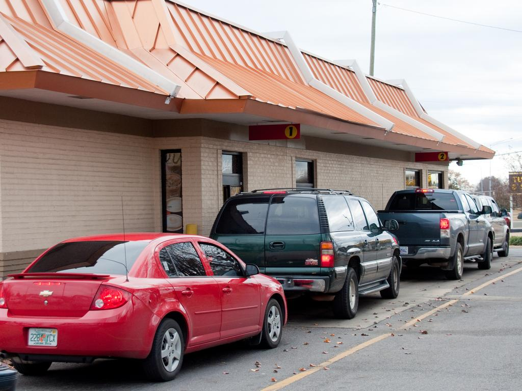The woman had been in a McDonald's drive-through when she received the surprise. Picture: iStock