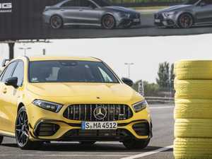 Mercedes' latest shot in power war