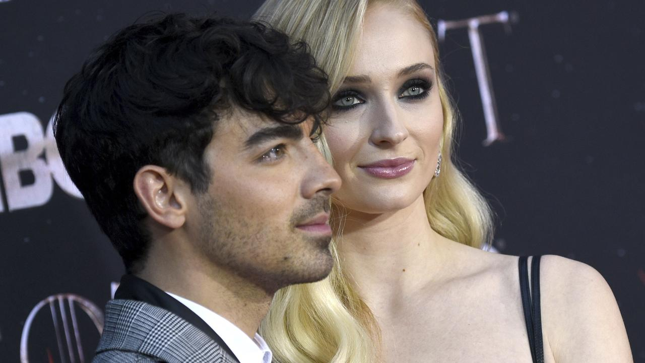 Joe Jonas and Sophie Turner have gotten matching tattoos in honour of their deceased dog. Picture: Evan Agostini/Invision/AP