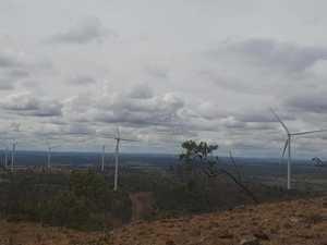 Coopers Gap windfarm