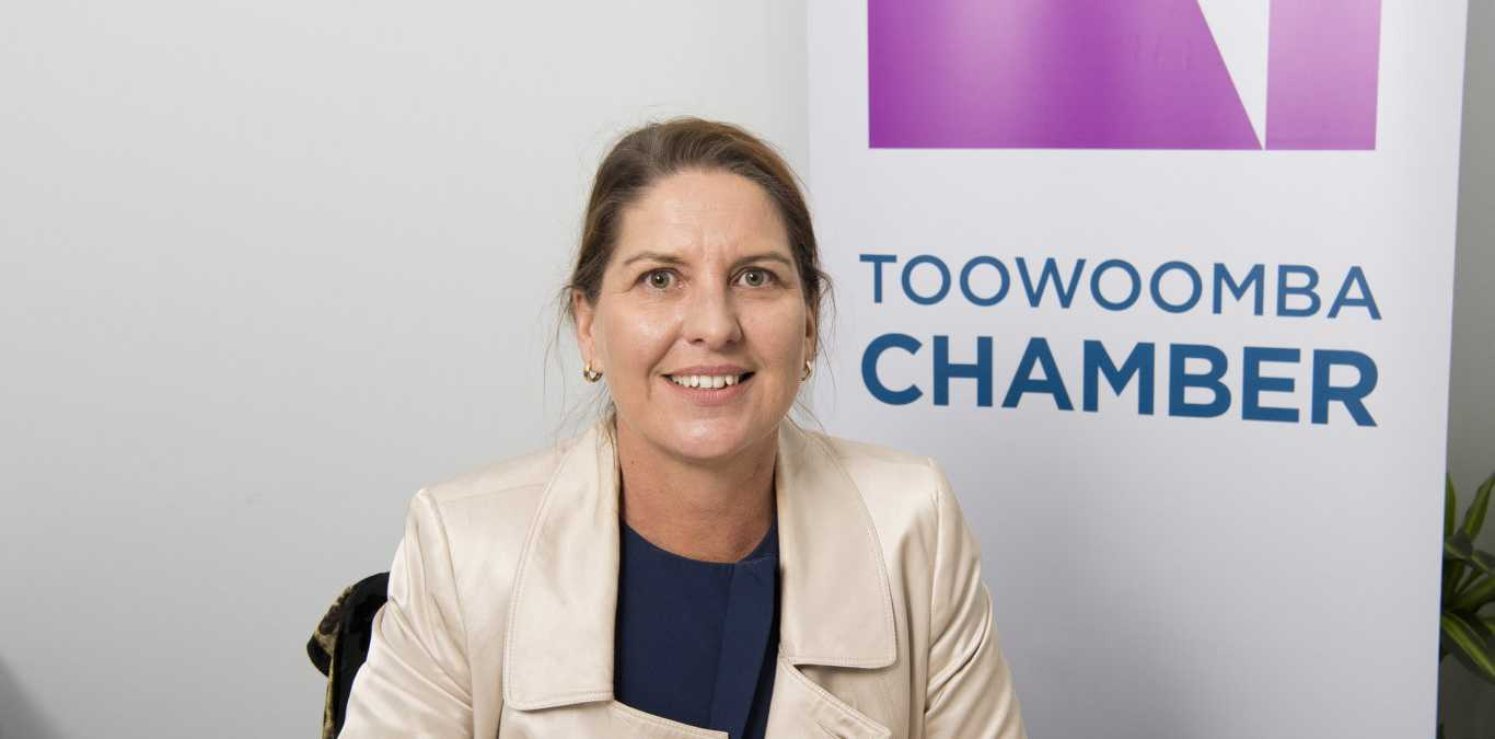 Debbie-Anne Bender, new CEO of the Toowoomba Chamber of Commerce. Thursday, 1st Aug, 2019.