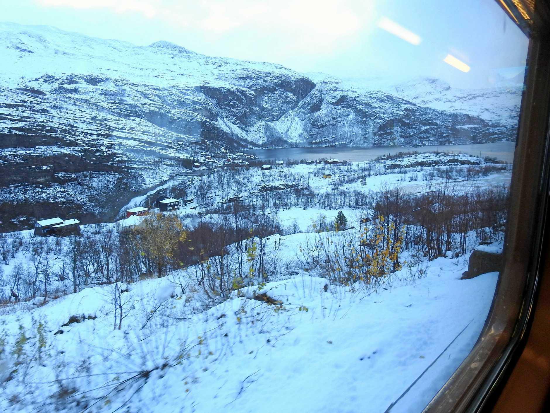 The Flåm Line is a 20.2km-long railway track between Myrdal and Flåm in Aurland, Norway.