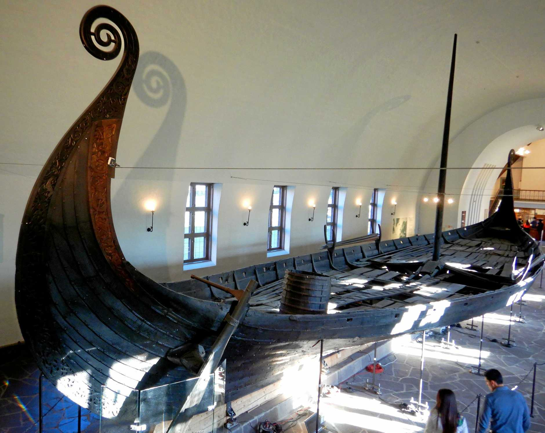 The captivating Viking Ship Museum in Oslo.