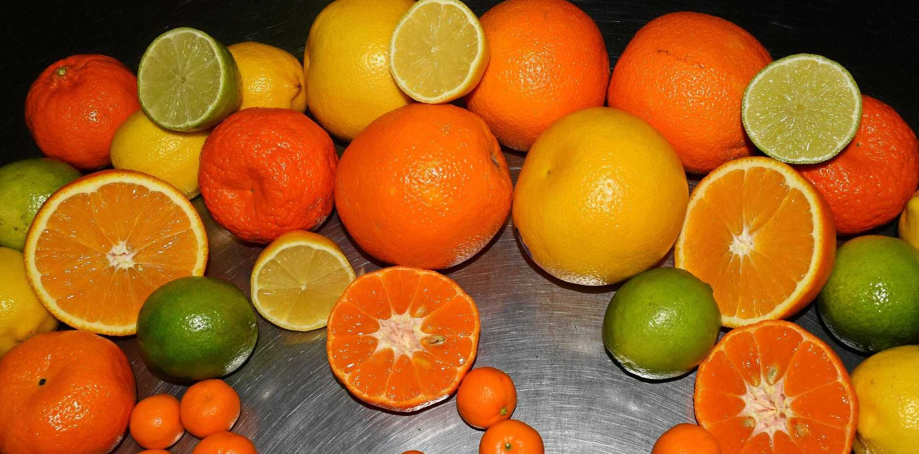 DRINK UP: Orange By Nature is at Caloundra Street Fair.