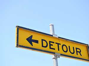 Detours announced by council due to roadworks