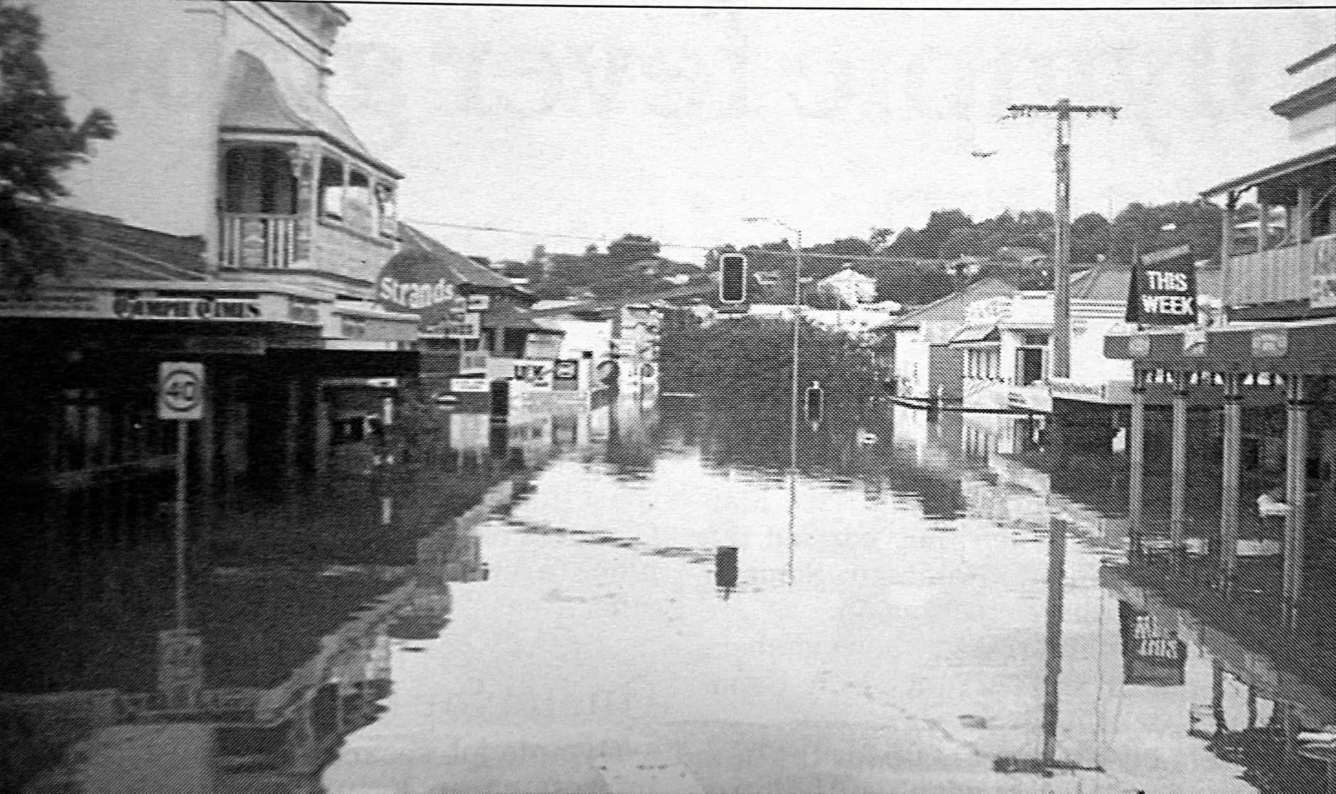 One of Gympie's floods.