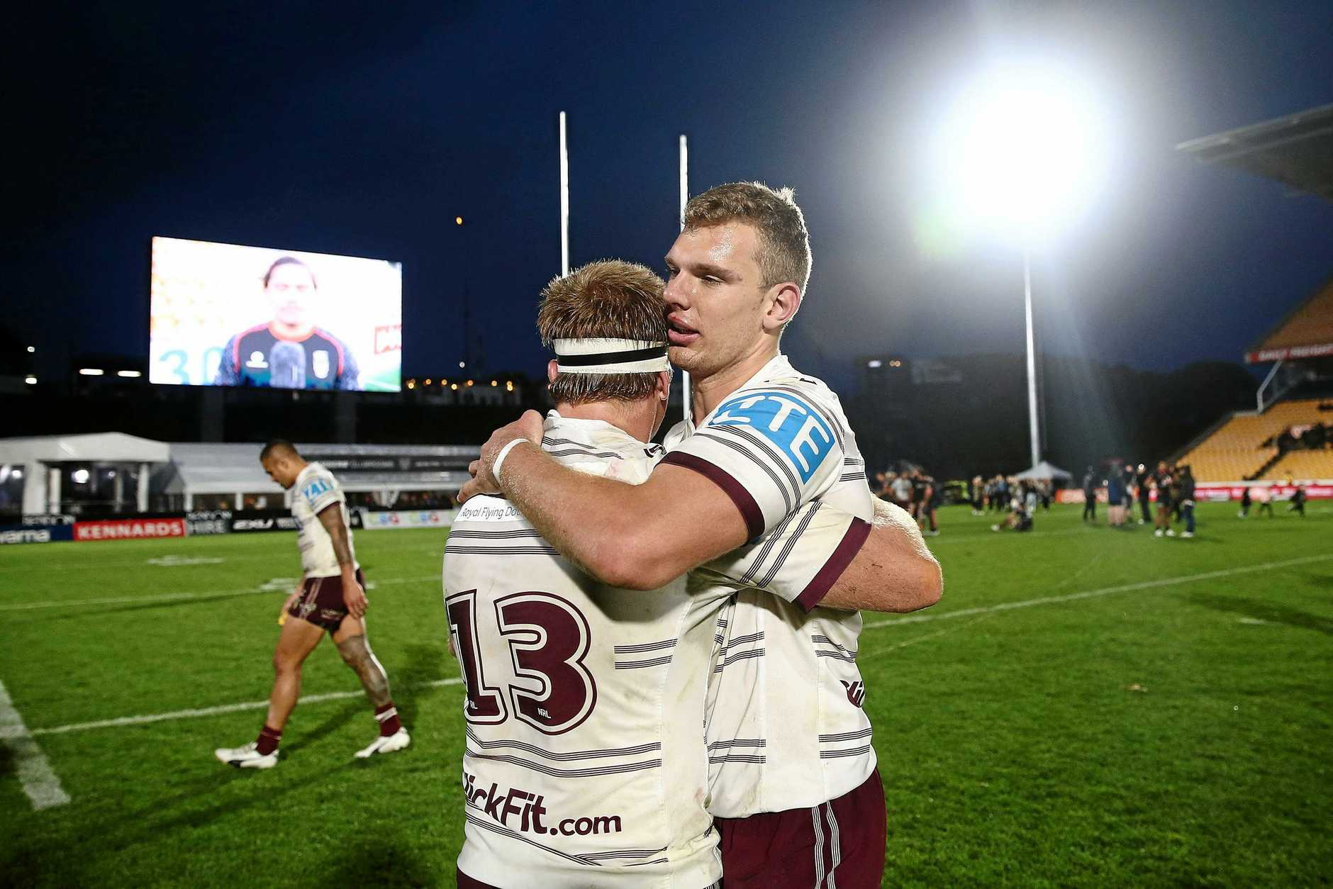 The Sea Eagles could struggle to retain brothers Tom and Jake Trbojevic.