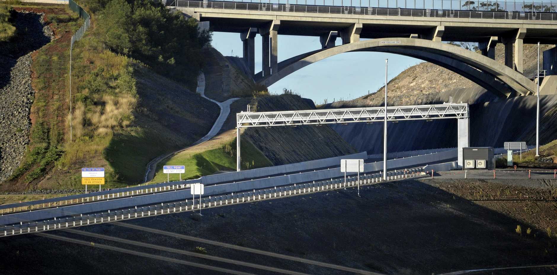 TOLL POINT: From September 8, trucks will have to pay a toll to use the new Toowoomba Bypass.