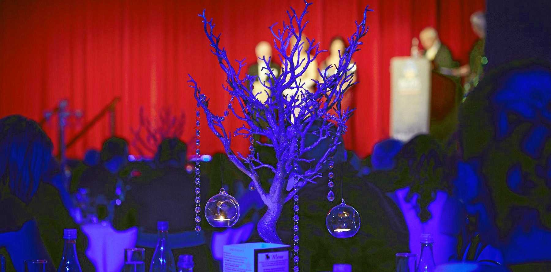Amazing decor greeted guests at the Beats Awards.