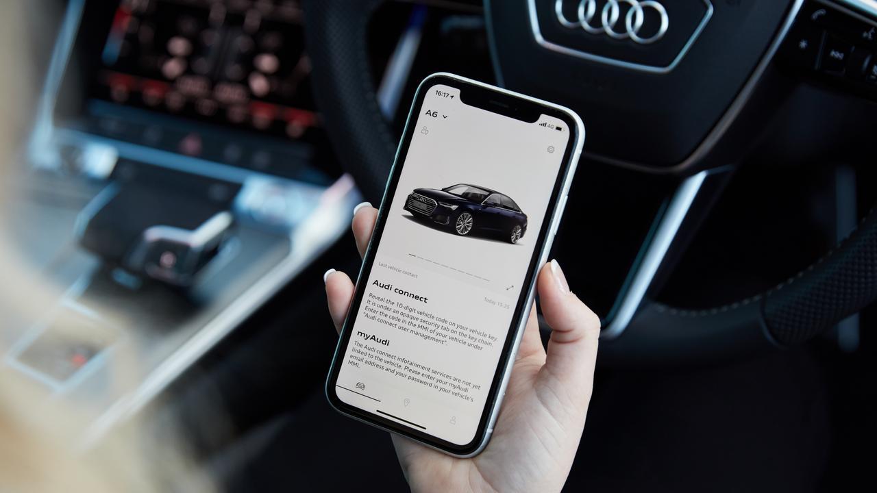 Audi Connect app.