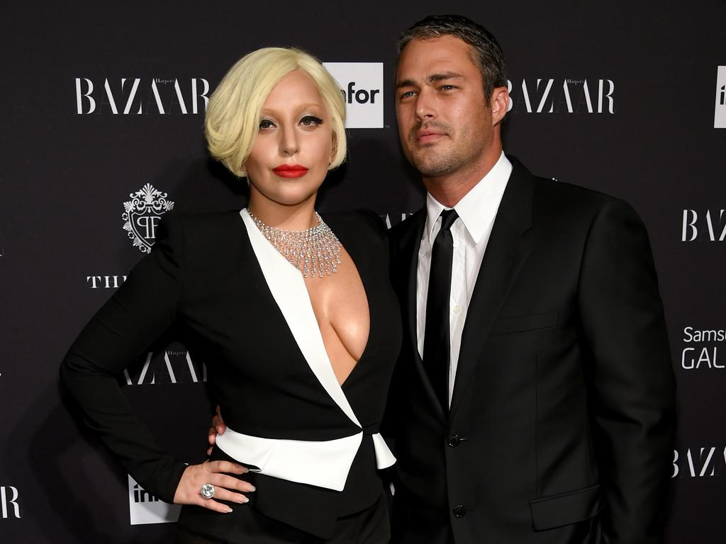 Lady Gaga and ex Taylor Kinney in 2014. Picture: Getty