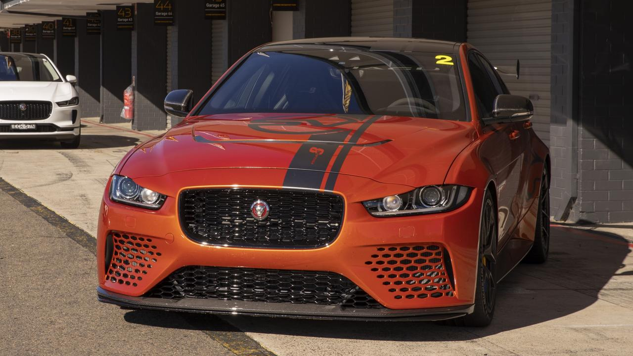 The XE SV Project 8 is the brand's most powerful road car to date.