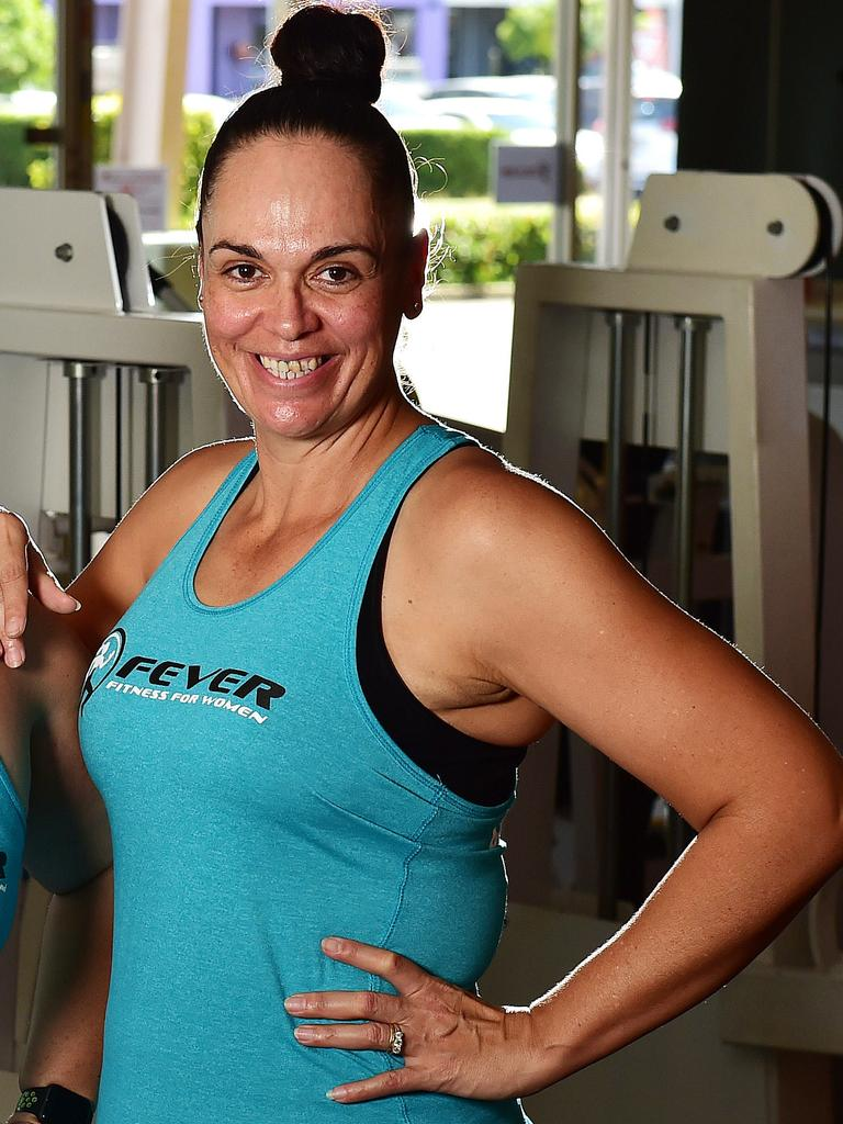 AFTER: Nadia Sills is now a fitness instructor. Picture: Shae Beplate.