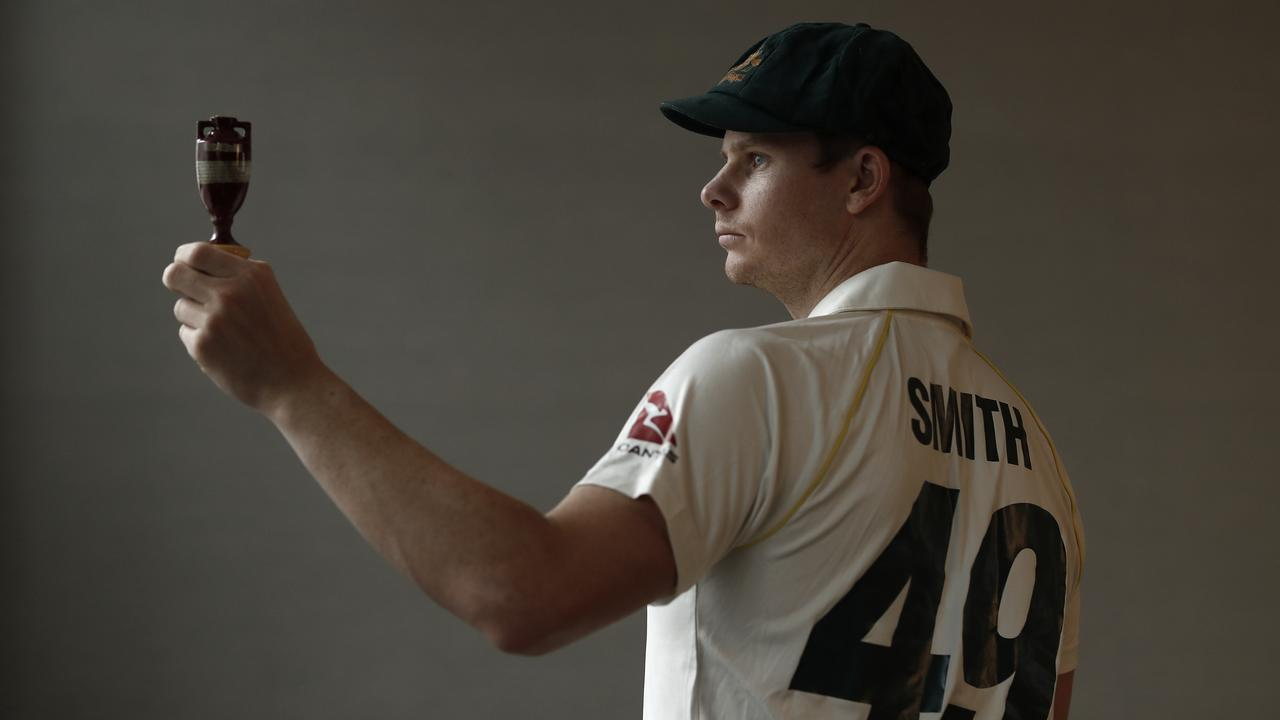 Steve Smith opted for his favourite number on his shirt for the Ashes. (Photo by Ryan Pierse/Getty Images)