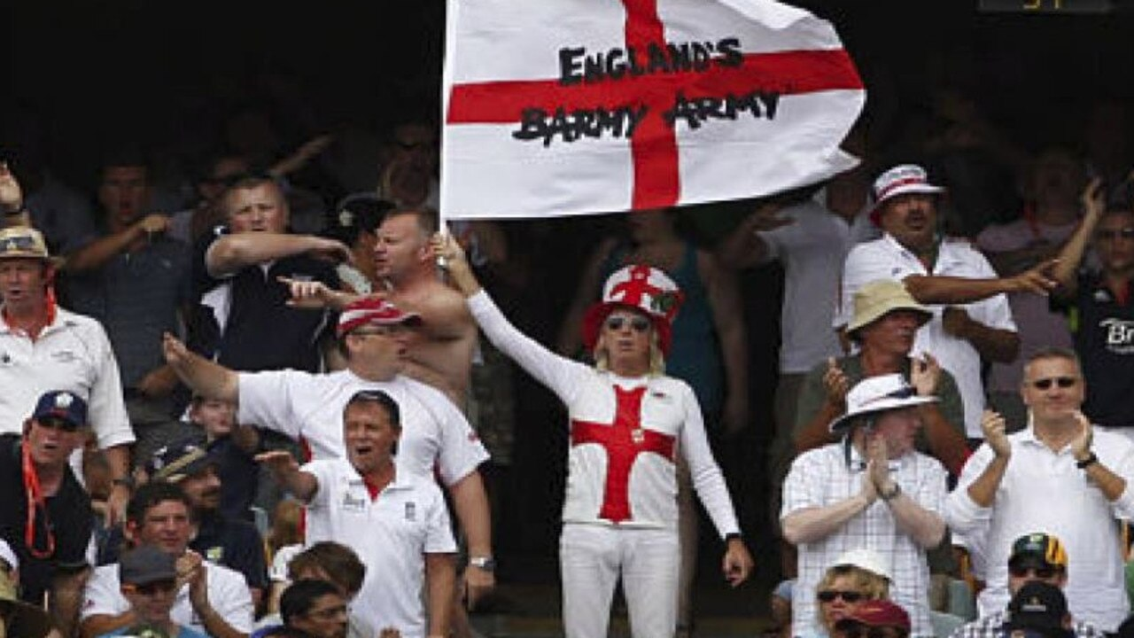 The Barmy Army are a big part of any Ashes contest.