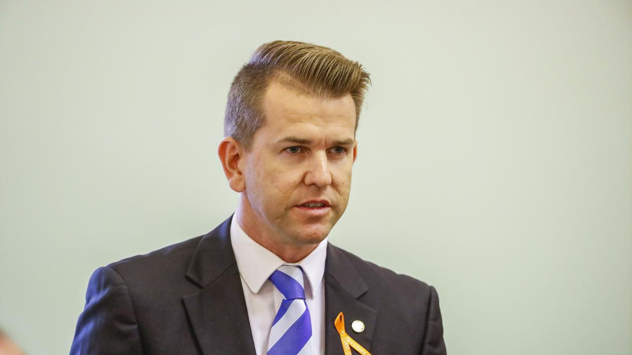 LNP MP Jarrod Bleijie raised the case at an Estimates Hearing this morning. Picture: AAP