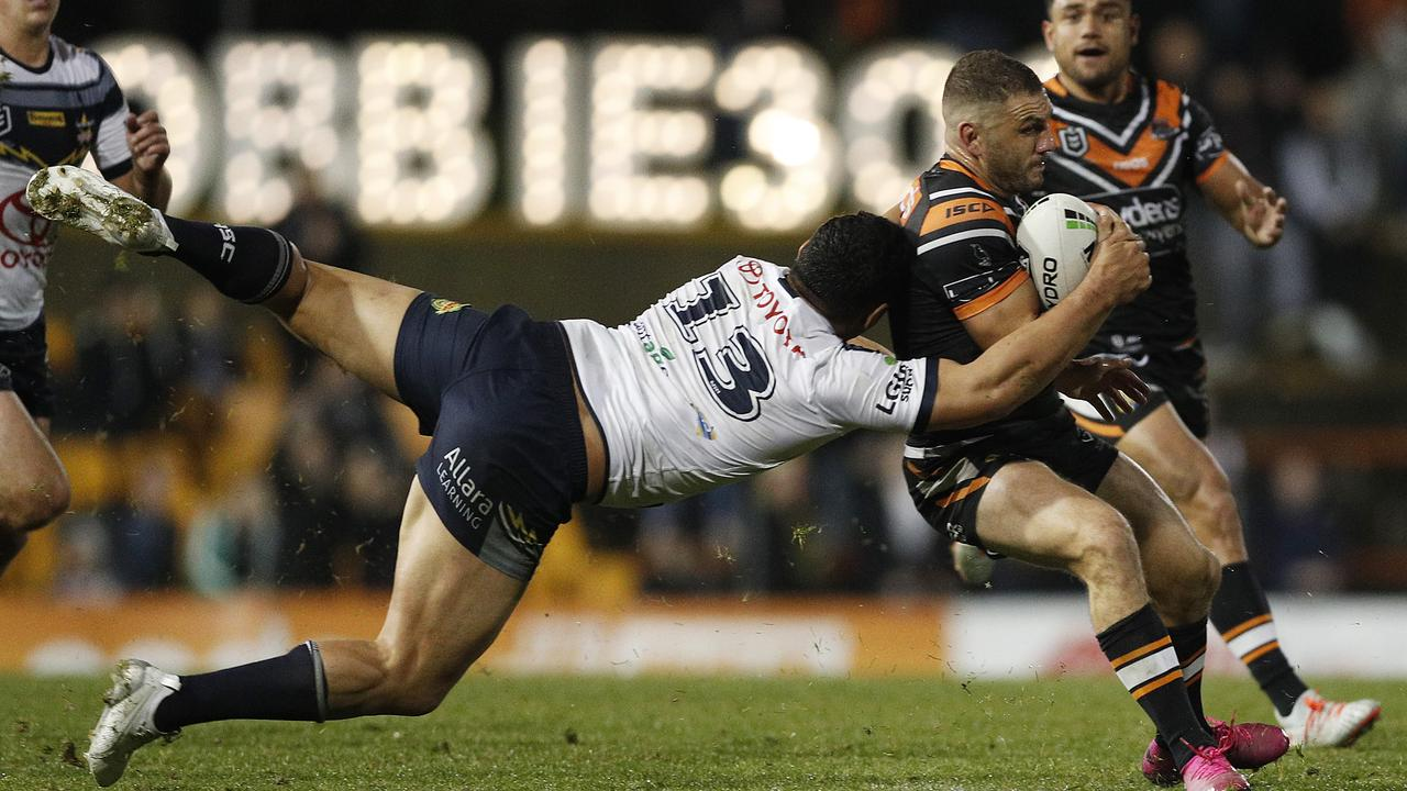 Robbie Farah proved too crafty for the Cowboys. Picture: Mark Metcalfe