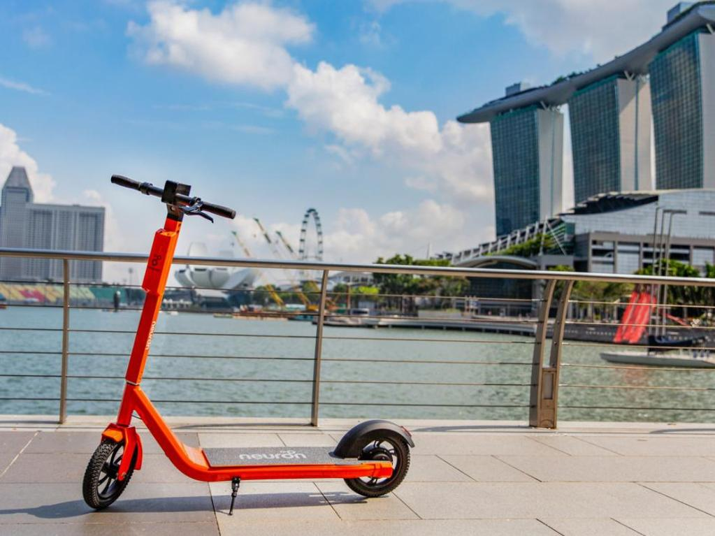 Neuron Mobility scooters will be introduced into Brisbane