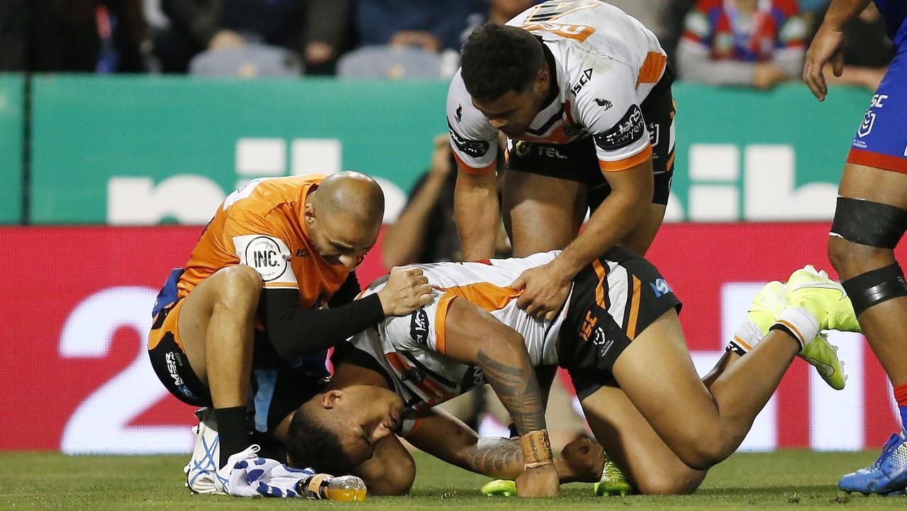 There was concern for Chee Kam after the incident. Photo: AAP Image/Darren Pateman