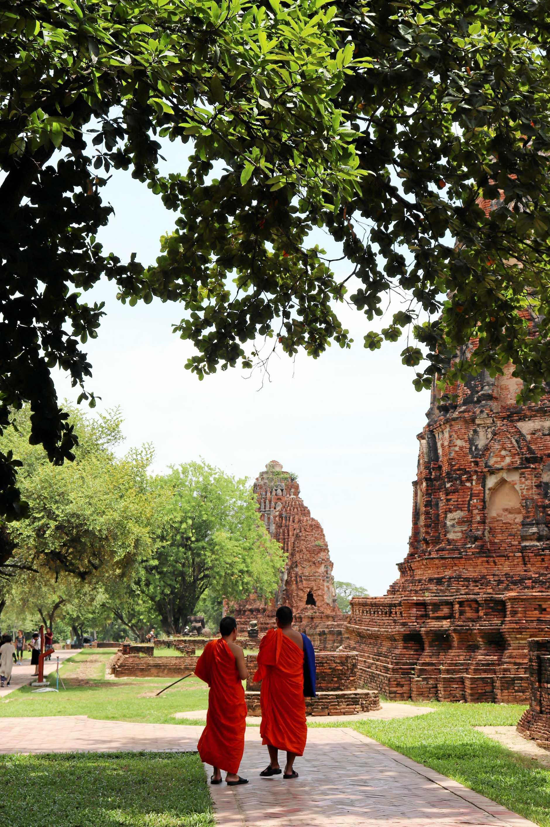 Wat Mahathat, Ayutthaya Historical Park.