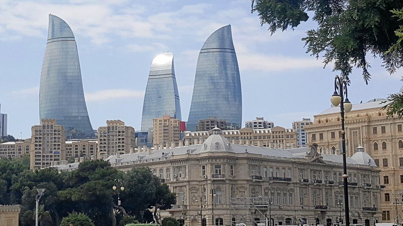 Baku, the capital of Azerbaijan.