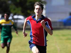 Searles' hat-trick highlight of schools athletics carnival